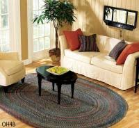 Braided Throw Rugs Braided Area Rugs In All Shapes U0026 Sizes Free Shipping