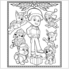 nick jr christmas coloring pages getcoloringpages