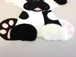 dalmatian dog animal craft kit for kids birthday party favor