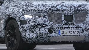 2019 mercedes benz gls class spied with strange alloy wheels