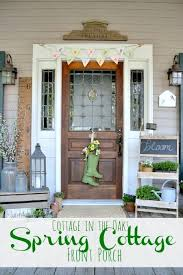 Cottage Front Porch Ideas by 118 Best Spring Porch Decorating Ideas Images On Pinterest Porch