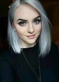 silver hair silver hair 30 gorgeous silver hairstyle ideas