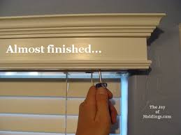 How To Fit Cornice To Ceiling How To Build A Small Valance Box For 14 54 The Joy Of Moldings Com