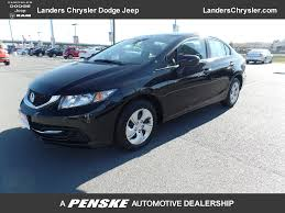chevrolet jeep 2014 2014 used honda civic sedan 4dr cvt lx at landers chevrolet