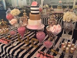 rose gold candy table mr and mrs candy table for a wedding gold and white colors yelp