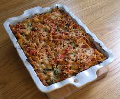Roasted Vegetable Recipes by Baked Penne With Roasted Vegetables Bermudaonion U0027s Weblog