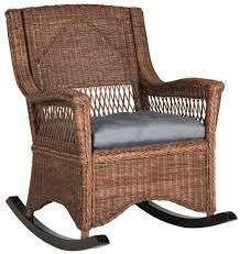 Wicker Outdoor Rocking Chairs Sea8036b Rocking Chairs Furniture By Safavieh