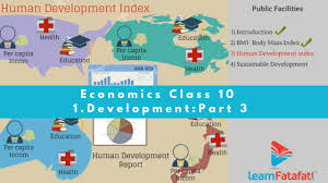 development class x economics cbse youtube