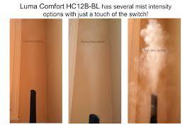 Luma Comfort Cool Mist Vase Humidifier Luma Comfort Ultrasonic Cool Mist Humidifier Hc12b