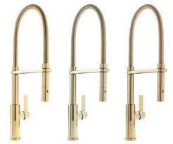 Kitchen Faucet Finishes California Faucets Offers Six New Gold And Brass Finishes
