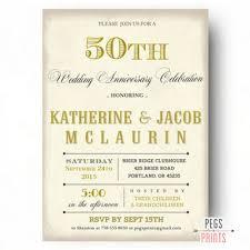 50 year wedding anniversary shop invitations for 50th wedding anniversary on wanelo