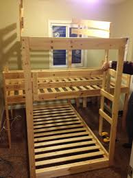 Triple Bunk Hack Mydal Bunkbeds IKEA Hackers IKEA Hackers - Ikea triple bunk bed