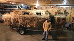 Duck Boat Blind Pictures Phil U0027s Duck Boat Blind General Overview 1 Youtube