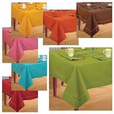 4 seater dinner table linen kitchen dining tablecloth cover