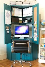 small secretary desk with hutch my new office corner convert a