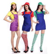 Mario Womens Halloween Costume Buy Wholesale Female Mario Costume China Female Mario