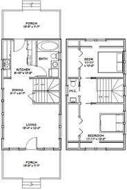 outstanding 16 x 20 house plans 3 pioneers cabin 16x20 on home 16x20 tiny house 16x20h4c 574 sq ft excellent floor plans
