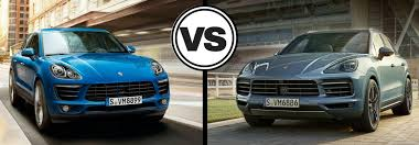 porsche macan and cayenne which porsche model offers more space the macan or the cayenne