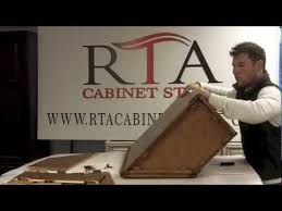 kitchen cabinets assembly required rta cabinet store cabinet assembly youtube