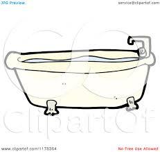 Claw Foot Bathtub Cartoon Of A Claw Foot Bathtub Royalty Free Vector Illustration