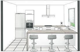 plan cuisine en u plan de cuisine en u idee cuisine surface amnagement de