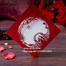 Asian Wedding Invitations Compare Prices On Asian Wedding Invitations Online Shopping Buy