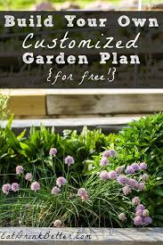 vegetable garden planner creates a free custom plan