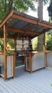 How To Build A Shed Against House by Diy How To Build A Shed Backyard Bar Metal Panels And Backyard
