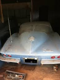 split window corvette value 1963 split window corvette barn find 33 years in storage