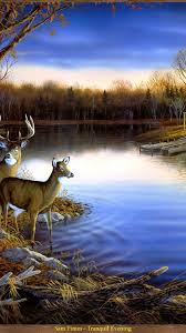 screenheaven tranquil of evening lovely rivers seasons calm