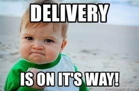 Baby Delivery Meme - delivery is on it s way fist pump baby meme generator