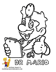 cool mario pictures kids coloring