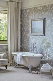Small Bathroom Wallpaper Ideas Colors 17 Best Paper The Powder Room Images On Pinterest Wallpaper