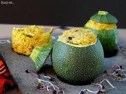 cuisiner courgette ronde courgettes rondes farcies au curry de riz thaï épices moi