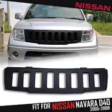 nissan jeep 2005 front matte black abs grid grill grille for nissan frontier navara