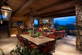 outdoor livingroom outdoor living room mediterranean patio by r j