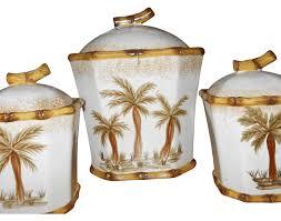 dillards kitchen canisters kitchen palm tree ceramic kitchen canisters for kitchen