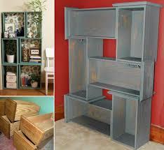 Turning Dresser Into Bookshelf Diy Drawers Into Shelves Mary Stanley Blog