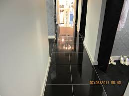 black gloss ceramic floor tiles flooring ideas