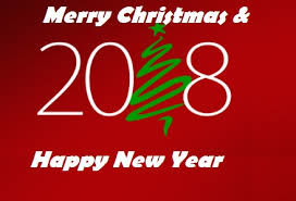 merry christmas and best wishes for happy new year 2018 best wishes