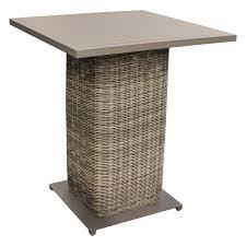 Patio Furniture 5 Piece Set - wicker pub table set 5 piece patio set design furnishings