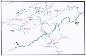 Tennessee Political Map by Ch 3 Mcfarlands In Tennessee And North Carolina Genealogical