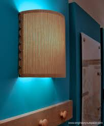 Wall Sconce Half Shades How To Make A Wall Lamp Sconce 6 Steps With Pictures
