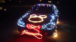 Light Halloween Costumes by Electrical Light Parade Car Halloween Costume Youtube