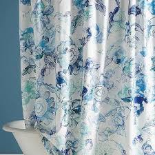 blue green shower curtain products bookmarks design