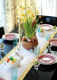 easter table decoration make table decoration easter itself 25 ideas for colorful easter