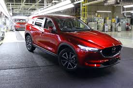 mazda suv range mazda starts production of all new mazda cx 5