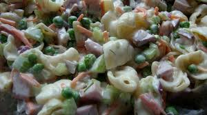pasta salad with mayo creamy orecchiette pasta with peas and ham u2013 life of the party always