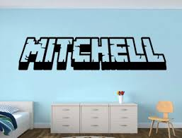 name wall decal etsy personalized gamer name wall decal looking room vinyl sticker