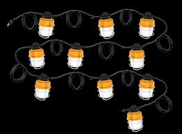 temporary job site lighting temporary construction lighting led awesome temporary led string